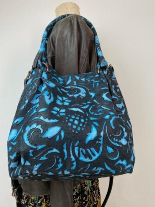 新型2WAYBAG Palloncino Hawaiianブラックブルー